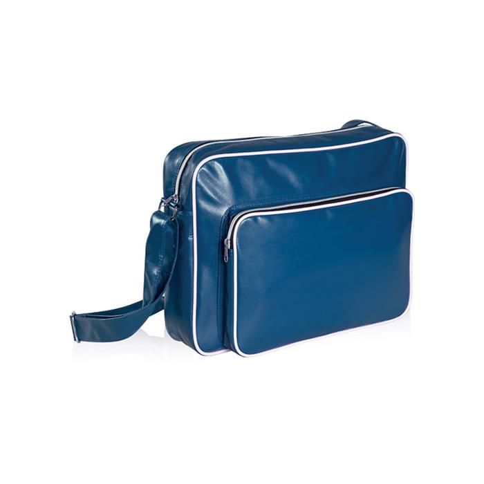 borsa da passeggio blu emmegrafica