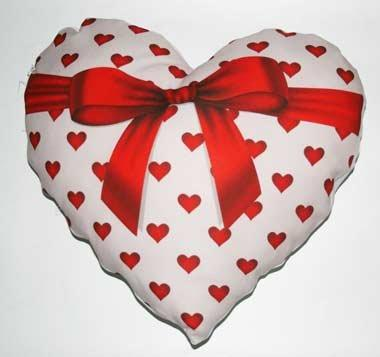cuscino cuore regalo emmegrafica