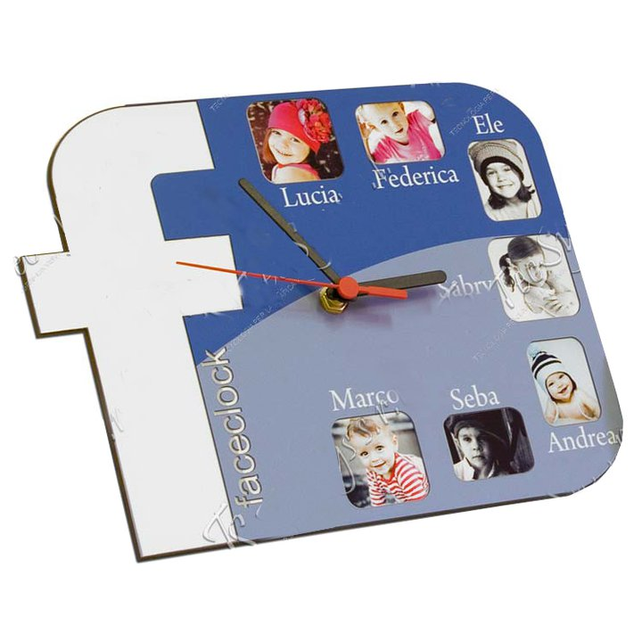 orologio blu emmegrafica